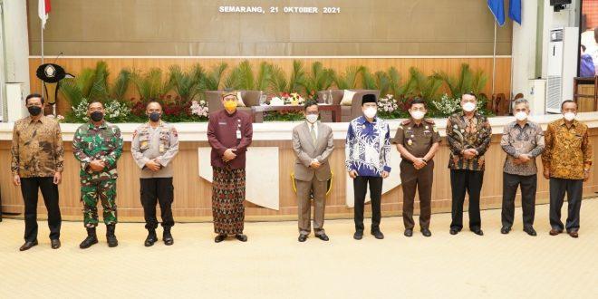 Kapok Sahli Pangdam IV/Diponegoro Dampingi Menkopolhukam RI Silaturahmi Ke Universitas Diponegoro