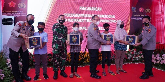 Kasdam IV/Diponegoro Dan Forkopimda Jateng Berikan Apresiasi Tinggi Kepada Akabri 1999