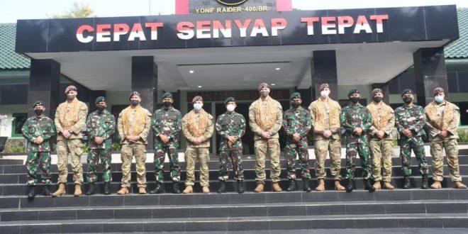 Yonif R 400/Banteng Raider Dan US Army Melaksanakan Latihan Bersama
