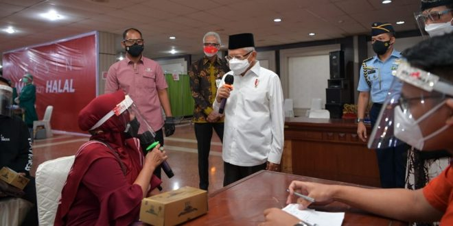 Pangdam IV/Diponegoro Dampingi Kunjungan Kerja Wapres RI di Jawa Tengah