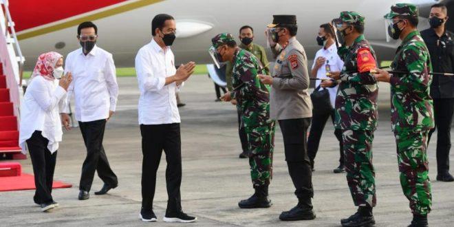 Dari Bali, Presiden Bertolak ke Yogyakarta